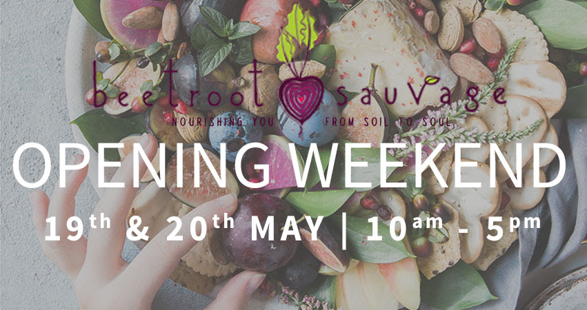 Beetroot Sauvage Opening Weekend flyer