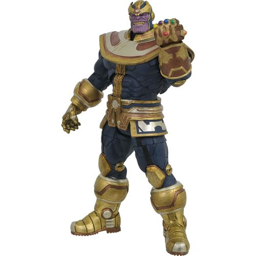 Image of Marvel Select Thanos with Infinity Gauntlet Action Figure - JANUARY 2021