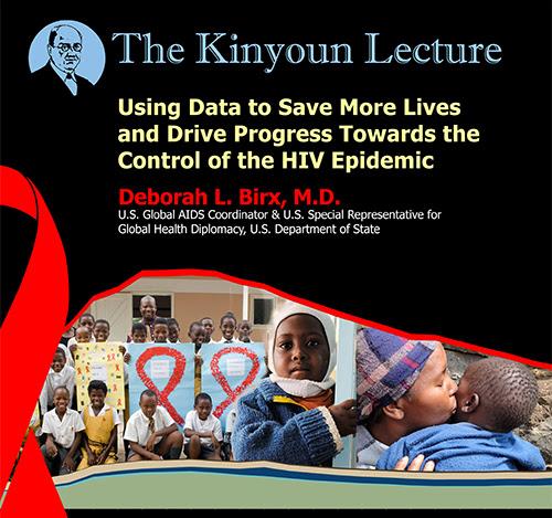 Kinyoun lecture poster
