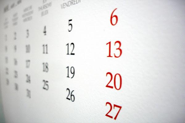 Αργίες 2019:  Τι μέρες πέφτουν οι επόμενες αργίες του έτους