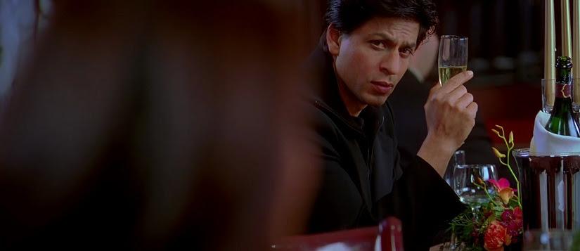 Shah Rukh Khan in a still from Kabhi Alvida Na Kehna. YouTube