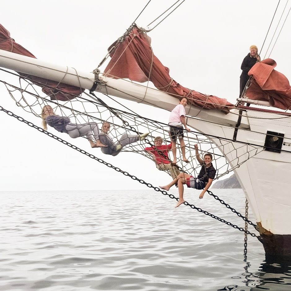 Discovering the ocean aboard a tall ship is a rite of passage for LAMI Topsail Youth Program sailors