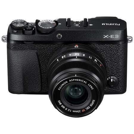 X-E3 Mirrorless Camera with XF 23mm f/2 R WR Lens, Black