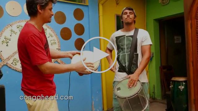 Pandeiro Repique Duo perform Improviso Afro-Brasileiro