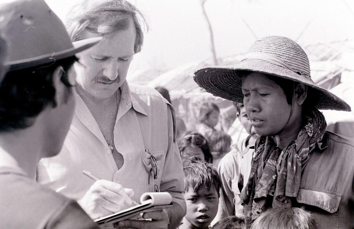 Ảnh tư liệu của phóng viên Ron Yates ở Việt Nam. (Ảnh: The Epoch Times)