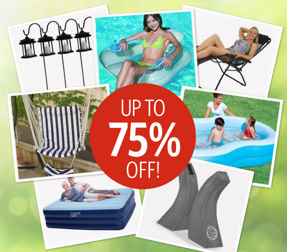 Save Up to 75% OFF Outdoor Living Best Sellers at DealsDirect.com.au