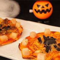 Mini pizza arácnida