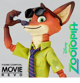 ZOOTOPIA FIGURE COMPLEX MOVIE REVO NICK WILDE