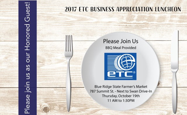 ETC Appreciation Luncheon