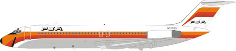 Douglas DC-9-32 PSA Pacific Southwest Airlines N707PS ( with stand) | is due: June 2019