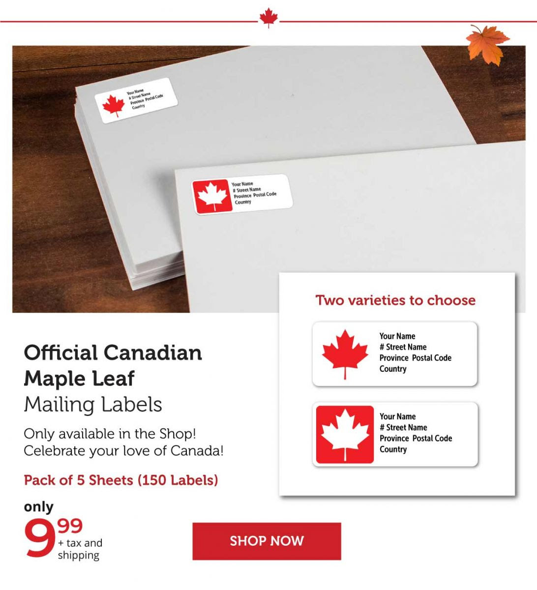 O Canada Spiral-bound Journal and Notebook