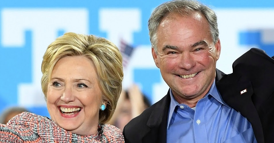 Sen. Tim Kaine (D-Va.) recently joined Hillary Clinton on the campaign trail. (Photo: UPI/Barcroft Images)