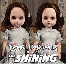 LIVING DEAD DOLLS PRESENTS: THE SHINING TALKING GRADY TWINS TWO-PACK