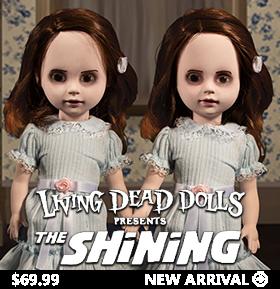 LIVING DEAD DOLLS PRESENTS: THE SHINING TALKING GRADY TWINS TWO-PACK