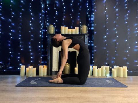 Posture du Chameau yoga