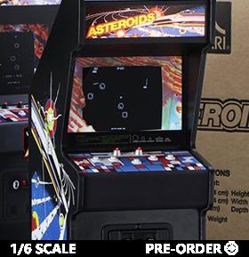 Asteroids RepliCade Amusements 1/6 Scale Limited Edition Arcade Cabinet