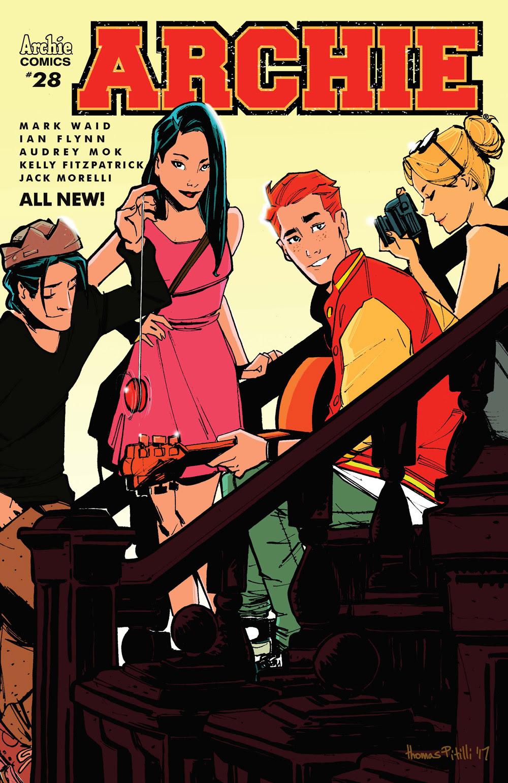 Archie #28 CVR B: Pitilli