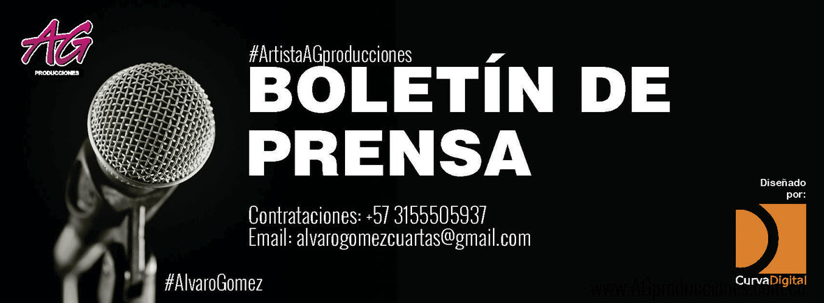 AG PRODUCCIONES - BOLETIN DE PRENSA 2018