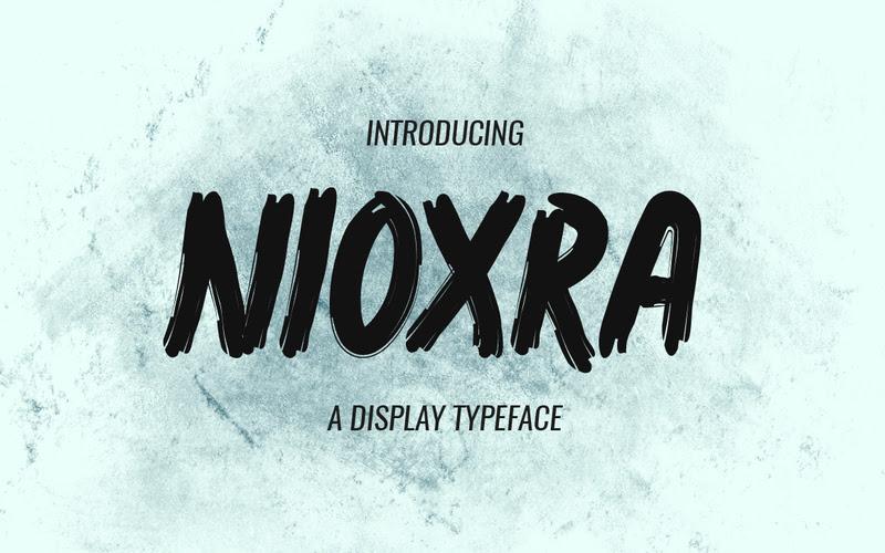 Noixra Display Typeface