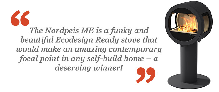 Nordpeis ME Wins Best Stove at Build It Awards!
