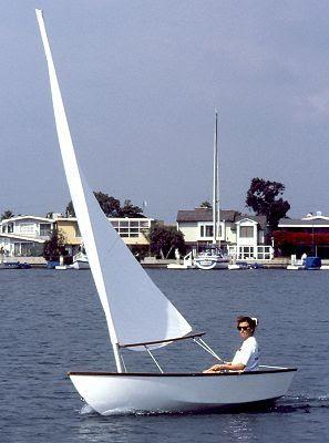 11' Bull's-Eye - skiff for oars, power, or sail-boatdesign