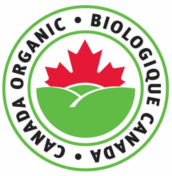 Canada Organic Logo - Colour