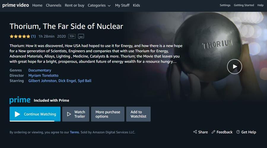 Thorium Far Side Of Nuclear
