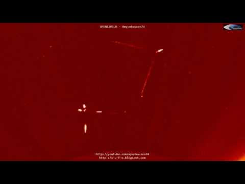 UFO News ~ 2 Huge UFOs interact observed near the Sun plus MORE Hqdefault