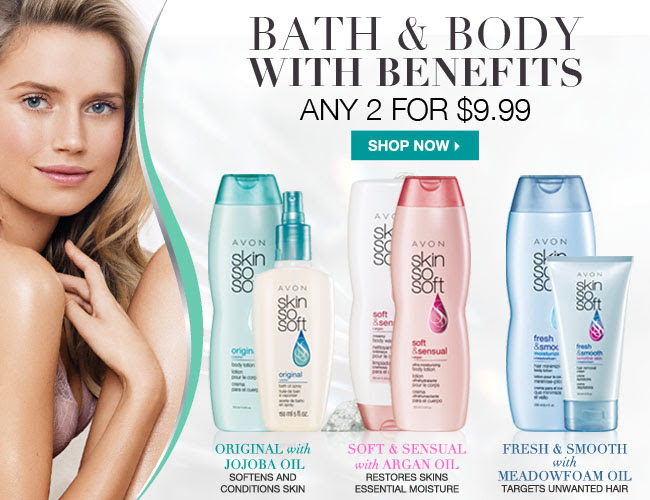 Skin So Soft Any 2 for $9.99