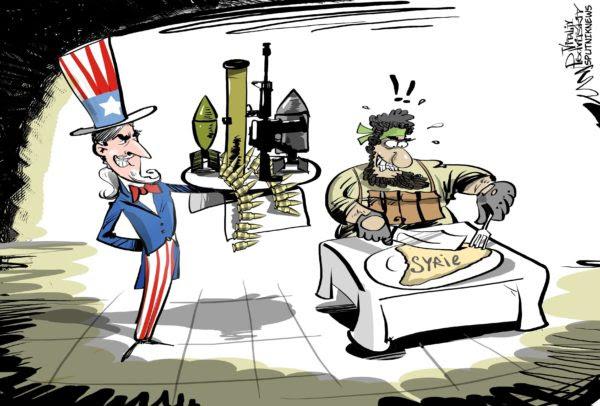 Livraison d'armes US aux terroristes en Syrie: C'est officiel!