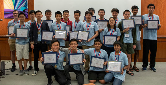 Featuring the U.S. team preparing for the International Physics Olympiad