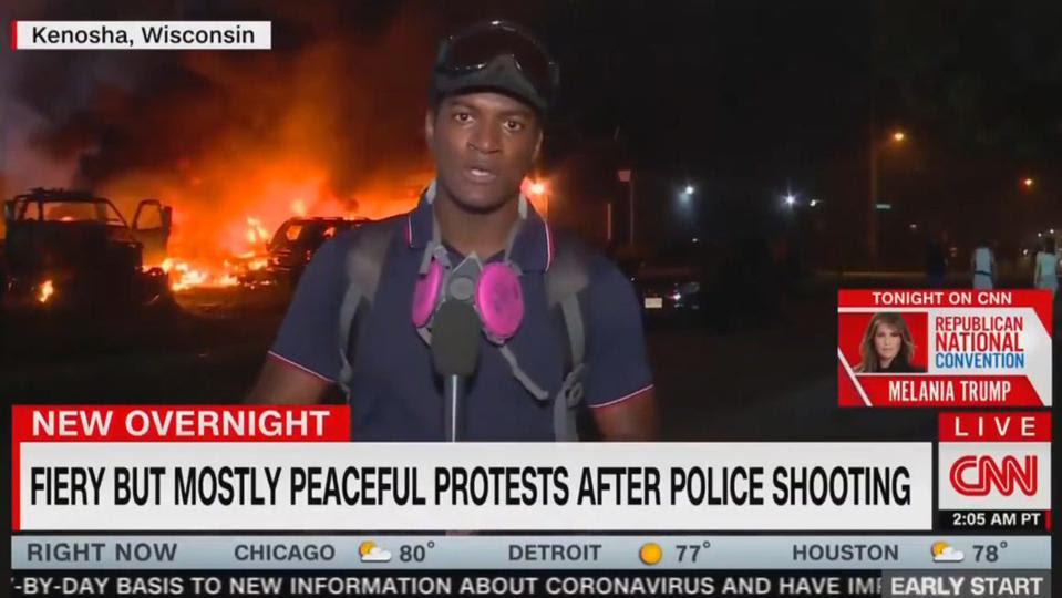 screen shot CNN
