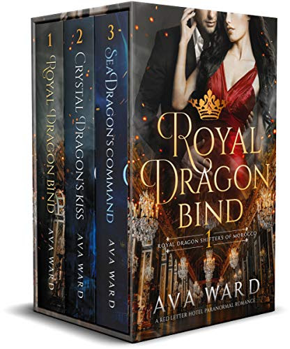 Cover for 'Royal Dragon Shifters of Morocco (Books 1-3)'