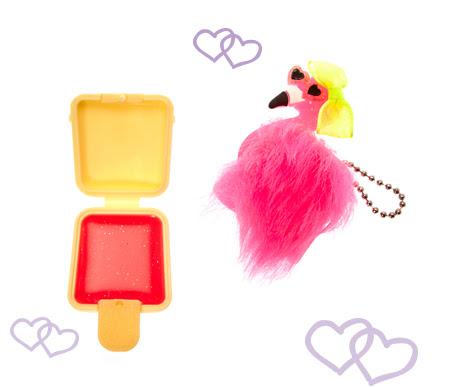 Flamingo Coconut Flavored Lip Gloss
