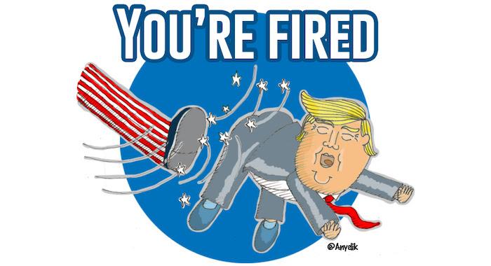 Trump-youre-fired-Anyelik-caricatura