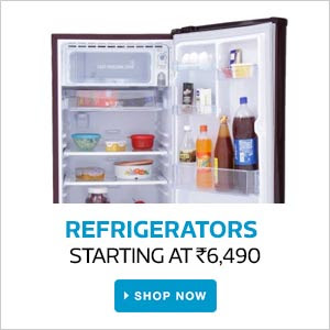 Refregerators | Starting At Rs.6,490