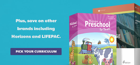 Save 20% on Horizons and LIFEPAC in April