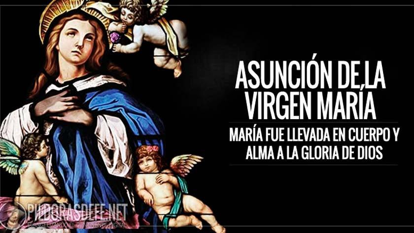 asuncion de la santisima virgen maria dormicion de maria asuncion de maria al cielo