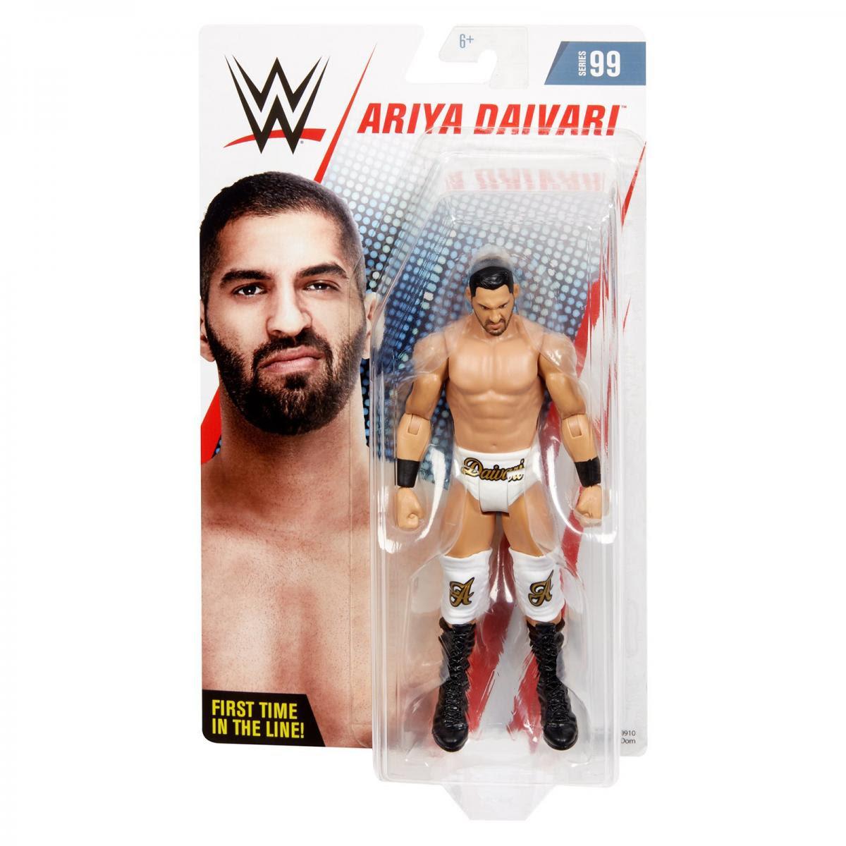 Image of WWE Basic Series 99 - Ariya Daivari - SEPTEMBER 2019