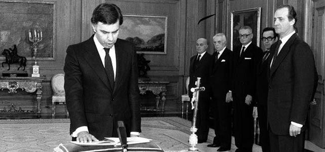 Felipe González jura su cargo como presidente - EFE (archivo)