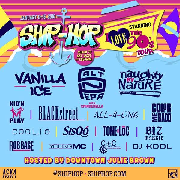 Ship-Hop 2018 lineup