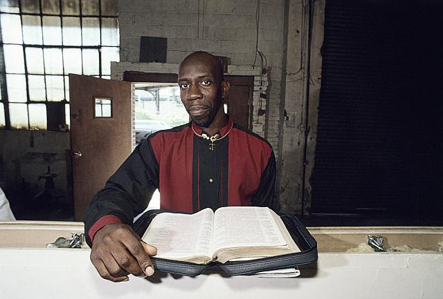 Anthony Ray, The Greater Temple of Praise, Snediker Ave., Brooklyn, 2002