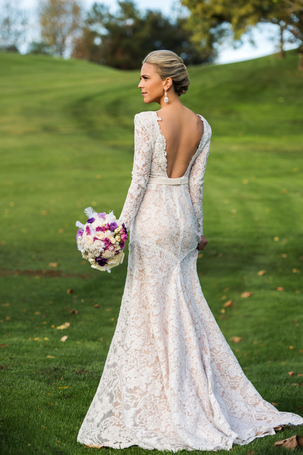 body con wedding dress