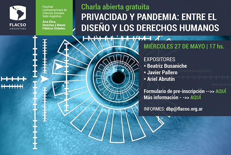 Privacidad y Pandemia: entre el diseño y los Derechos Humanos