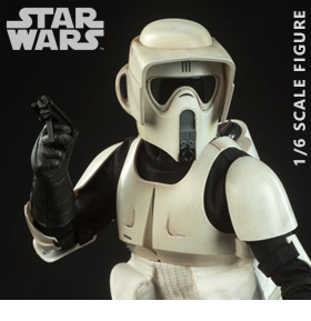 Star Wars Scout Trooper (Return of the Jedi) 1/6 Scale Figure (2nd Edition)