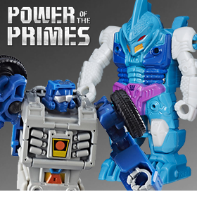 TRANSFORMERS POWER OF THE PRIMES LEGENDS & MASTERS