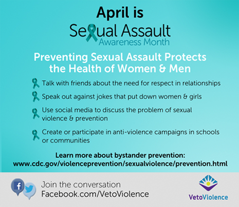 Sexuam Assault Awareness Month