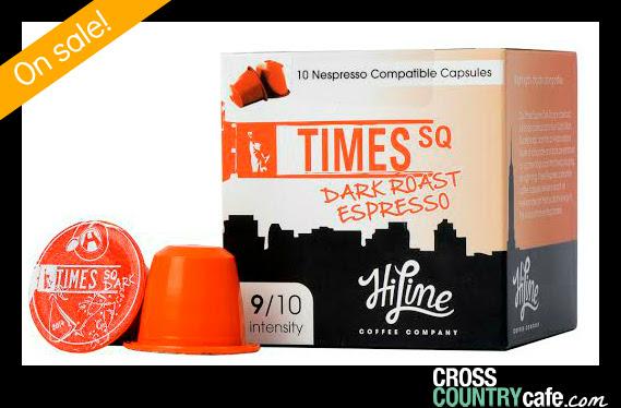 Times Square Nespresso compatible espresso capsules