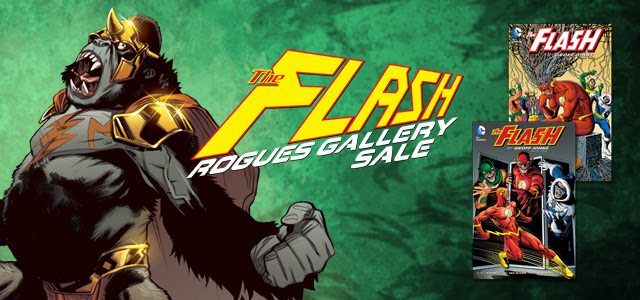 The Flash Rogues Gallery Digital Sale
