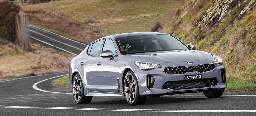 Kia Stinger grey